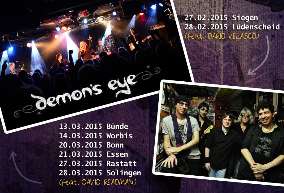 Demon's Eye * Europe's No. 1 Deep Purple Tribute Band