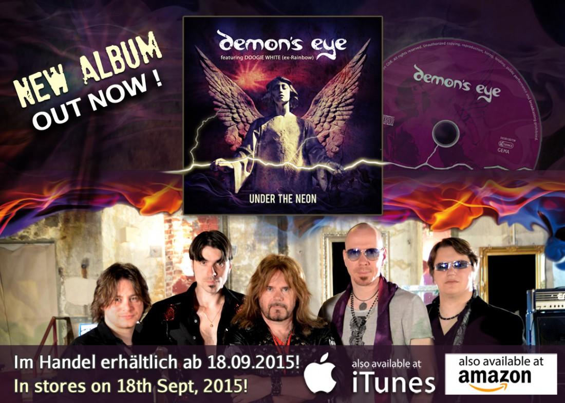Demon's Eye feat. Doogie White - UNDER THE NEON