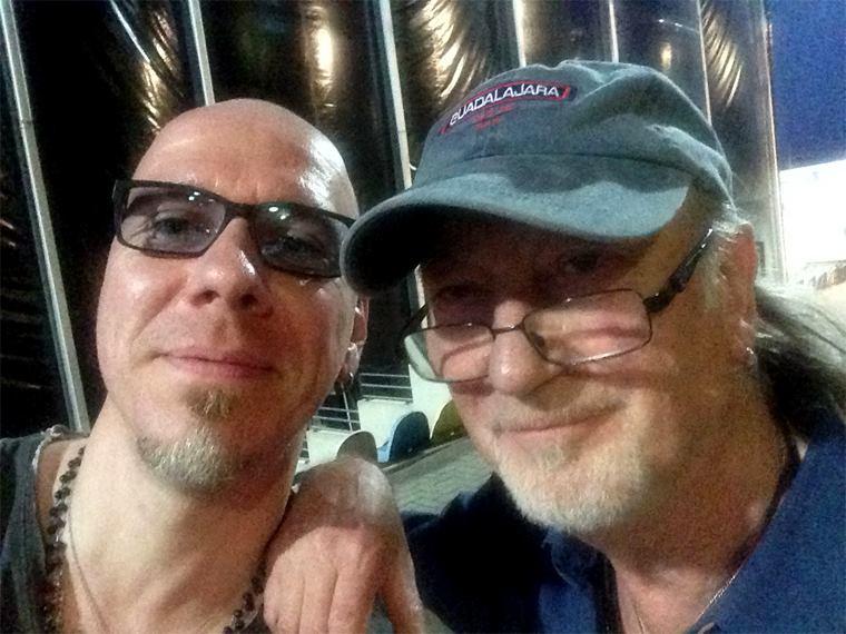 Andree Schneider & Roger Glover (Deep Purple)